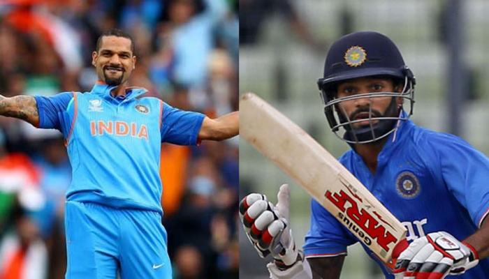 Shikhar Dhawan makes a special hundred by playing pink one day