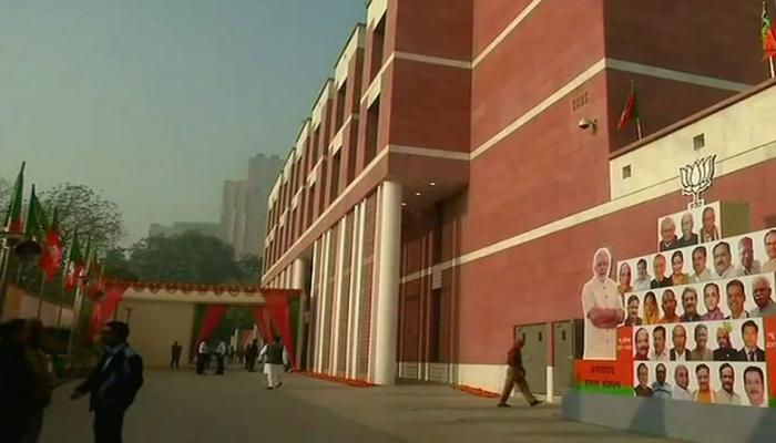 bjp new head office pm narendra modi amit shah ashoka road deendayal road