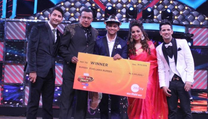 Sanket Gaonkar won the title of Dance India Dance season 6