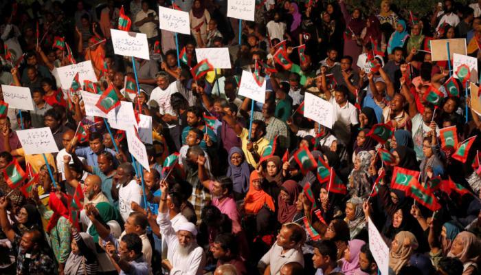 मालदीव में नहीं सुधर रहे हालात, 30 दिन के लिए बढ़ाया गया आपातकाल