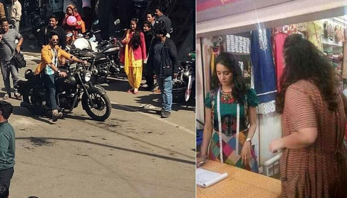 shahid kapoor and shraddha kapoor pics going viral from the set of batti gul meter chalu