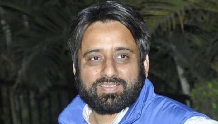 मुख्य सचिव के साथ मारपीट मामले में AAP विधायक अमानतुल्लाह खान के खिलाफ FIR