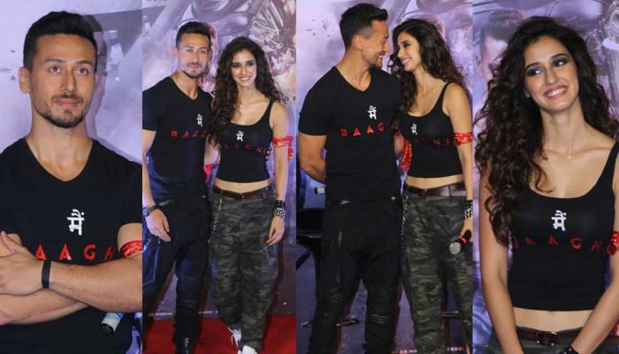 Tiger Shroff, Disha Patani at 'Baaghi 2' Trailer Launch Photos