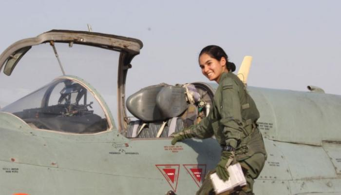 flying officer avani becomes first indian woman to fly fighter aircraft solo