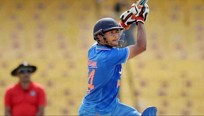 Mayank Agrawal knocks to Virat Kohli through records