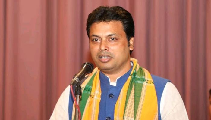 बिप्लव देब होंगे त्रिपुरा के नए मुख्यमंत्री, जिष्णु देव वर्मा बनेंगे उप मुख्यमंत्री