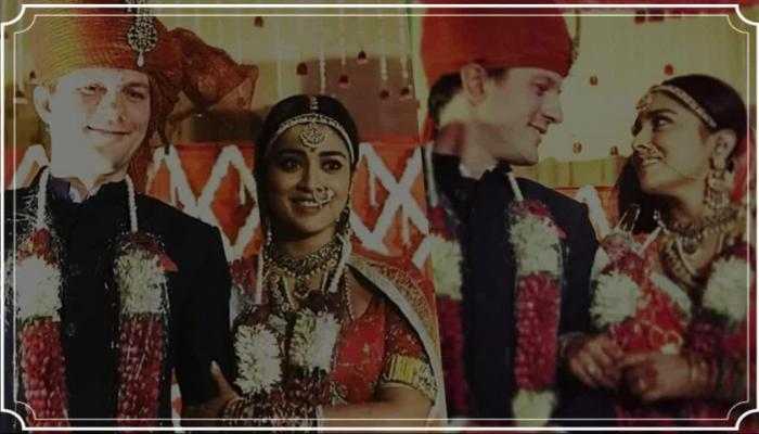shriya saran married to his russian boyfriend in a private ceremony, pics viral