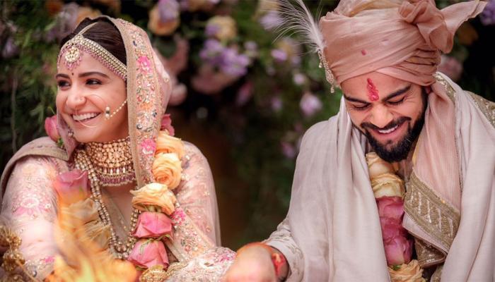 Pics of Virat kohli and Anushka Sharma which went Viral and Trending