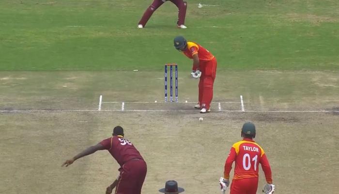 ICC वर्ल्डकप क्वालिफायर : जिम्बाब्वे को हराकर सुपरसिक्स में शीर्ष पर पहुंचा वेस्टइंडीज