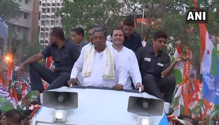 कर्नाटक में बोले राहुल गांधी, 'सत्ता के लिए कुछ भी कर सकती है बीजेपी'