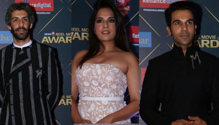 pics: bollywood stars attended reel movie awards 2018