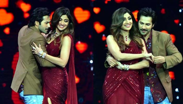 October star Varun Dhawan at Super Dancer Chapter 2 finale with Shilpa Shetty