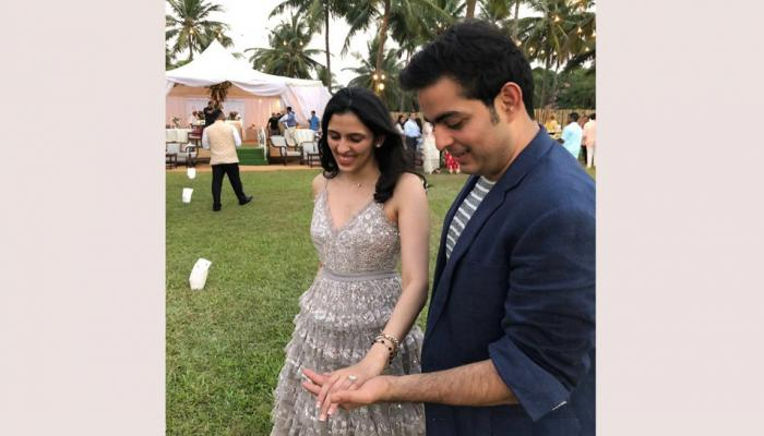 akash ambani and shloka russell mehta pre engagement celebration proposal in goa