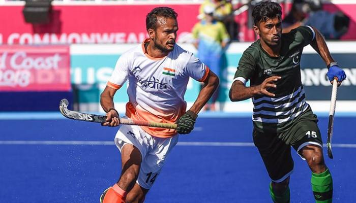 CWG 2018 : India Pakistan hockey match thrill in pictures