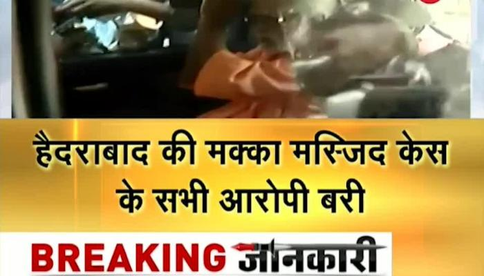 All 5 persons accused in Hyderabad Mecca Masjid blast case acquitted