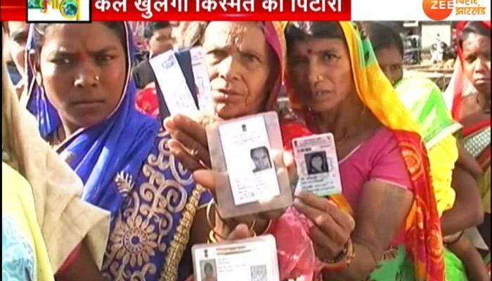 Jharkhand Muncipal Election vote counting 20 april