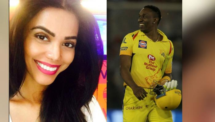 IPL 2018 : Dwayne Bravo, Chennai All rounder connection with Natasha Suri!