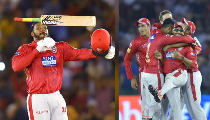IPL 2018 : Chris gayle storm stops winning campaign of Hydrabad