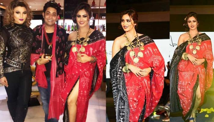Arshi Khan walk on Ramp of Bigg Boss 11 Contestent Sabyasachi Satpathy