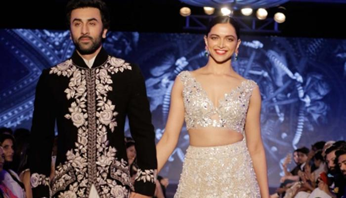 Ranbir and Deepika walk on ramp, see photos of fashion show
