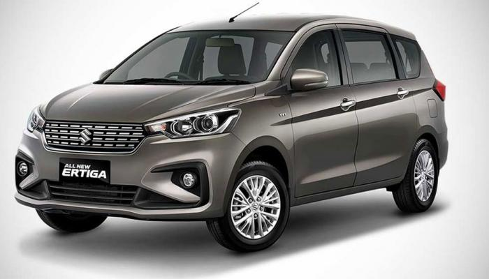 2018 Maruti Suzuki Ertiga Unveiled in indonesia international motor show 2018