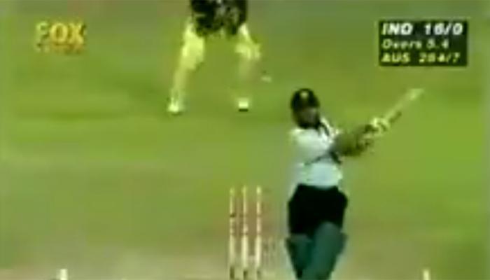 VIDEO : सचिन की ताबड़तोड़ बल्लेबाजी के कारण 20 साल पहले शारजाह में आया था 'तूफान'