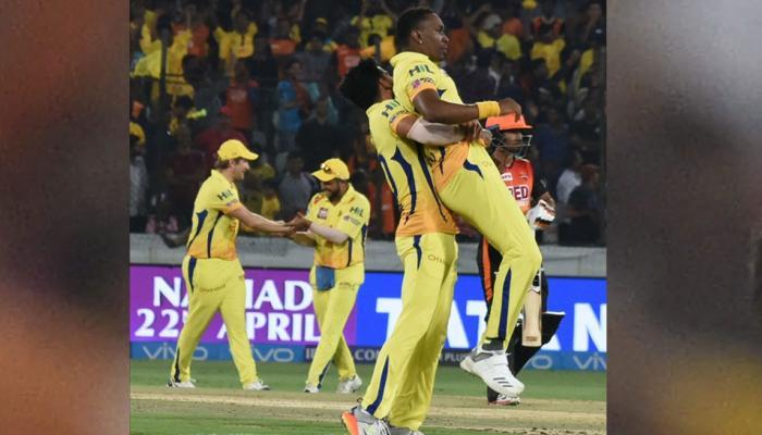 IPL 2018 : आखिरी गेंद पर हैदराबाद को हराकर चेन्नई पहुंचा टॉप पर