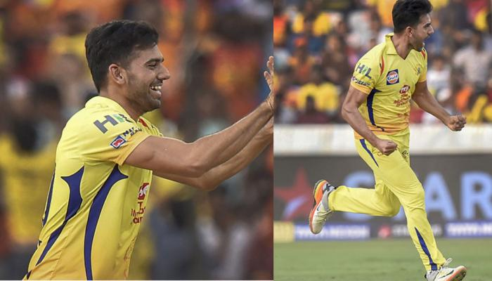 IPL 2018 : Deepak chahar shines with his bowling in chennai win Over hyderabad