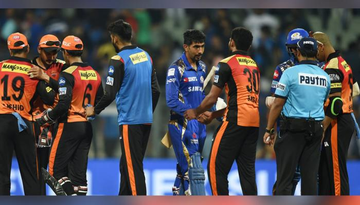 IPL 2018 : Mumbai Hyderabad match was full of these amazing records