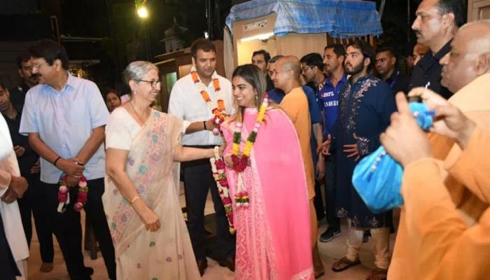 Mukesh Ambani Daughter Isha Ambani got engaged with Anand Piramal