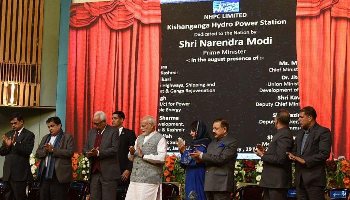 Top news from neighboring countries Modi opens controversial power station in held Kashmir