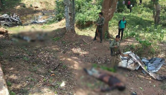 Chhattisgarh : Dantewada 6 Jawan Killed and 1 injured In IED BLAST Naxal Attack