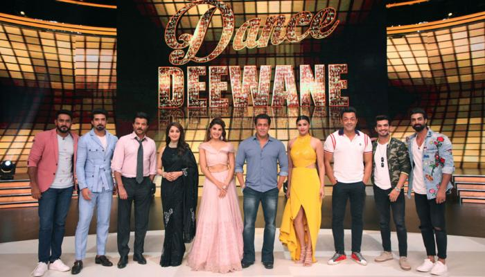 race 3 team promoted their movie on the sets of tv reality show dance diwane salman Khan, jacquline fernandiz