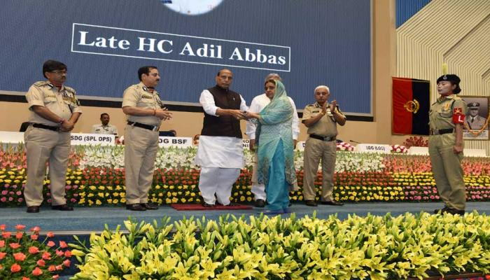 Police medal awarded to BSF 46 heroes for gallantry