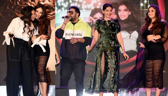 Here's how Kareena Kapoor Sonam Kapoor madness at 'Veere Di Wedding' music launch looked like!