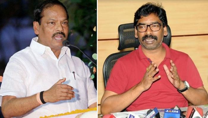 उपचुनाव : हेमंत सोरेन ने साधा CM रघुवर पर निशाना, BJP ने बताया अशिक्षित होने का असर