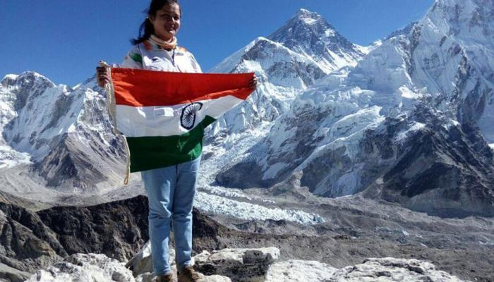 megha parmar become first person of Madhya Pradesh to climb mount everest