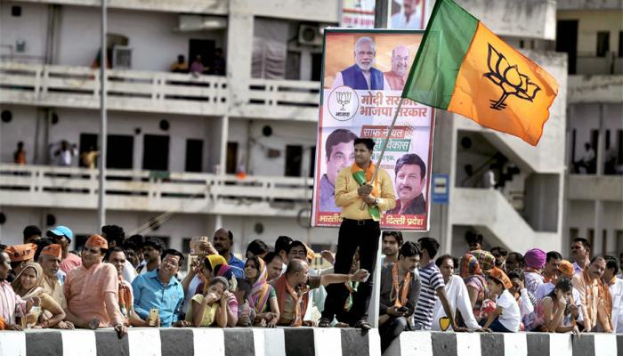 Delhi meerut expressway : People wanted to get a glimpse of PM Modi between Hot temperature