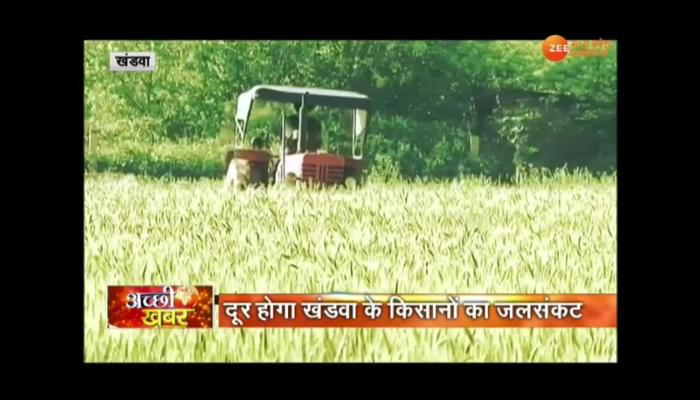 VIDEO: Khandwa farmers will have water, Narmada water will be irrigated in farm