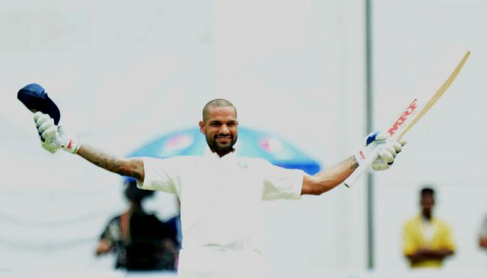 INDvs AFG Test : Shikhar Dhawan and Murali Vijay dominates on Day One