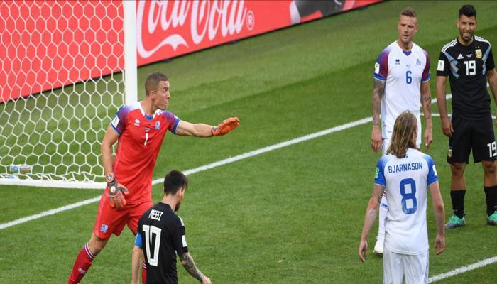 Iceland's Hannes Halldorsson reveals secret behind Lionel Messi penalty save