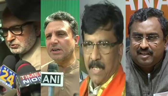 bjp dumps pdp: see other party's Politicians reaction on jammu kashmir governmet