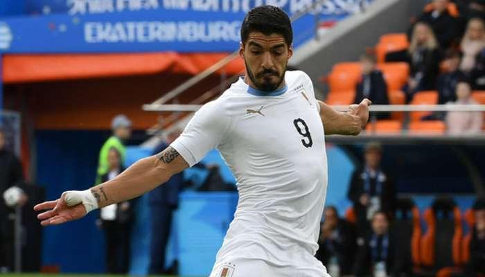 FIFA World Cup : सुआरेज के 100वें मैच में साऊदी अरब को हराना चाहेगा उरूग्वे