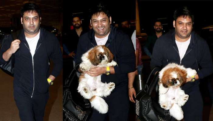 Kapil Sharma shocking Photo of weight gain Spotted At Mumbai Airport