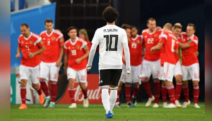 FIFA World Cup : मिस्र को हरा कर रूस ने दूसरे दौर में किया प्रवेश