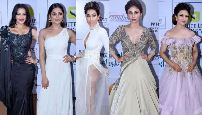 Gold Awards 2018: Jennifer Winget, Karan Patel, Karishma Tanna on red carpet