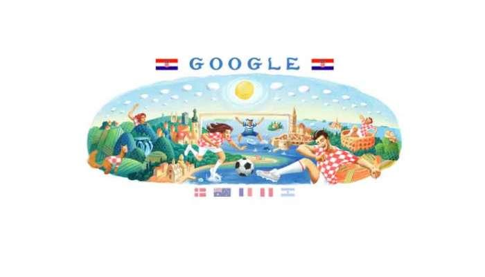 फीफा विश्व कप के 8वें दिन को Google ने बनाया Doodle, इस तरह किया सेलिब्रेट