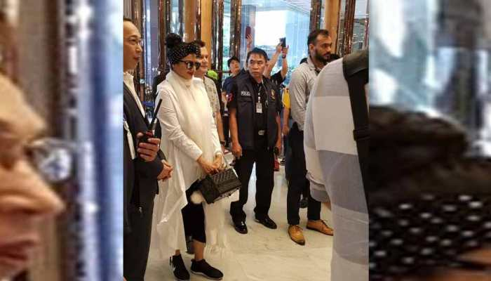 IIFA 2018: Actress Rekha spot at Bangkok in different look