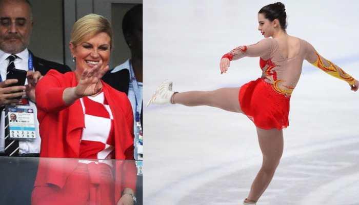 VIDEO : क्रोएशिया की राष्ट्रपति हैं फुटबॉल की फैन तो उनकी बेटी करती है फिगर स्केटिंग में कमाल
