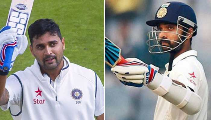 INDvsENG : टेस्ट सीरीज से पहले अजिंक्य रहाणे-मुरली विजय का होगा यह 'टेस्ट'